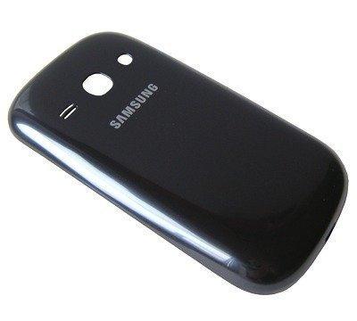 Akkukansi / Takakansi Samsung S6810 Galaxy Fame metalic blue