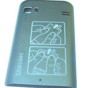Akkukansi / Takakansi Samsung S7230 723 Wave valkoinen