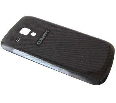 Akkukansi / Takakansi Samsung S7560 Galaxy Trend musta