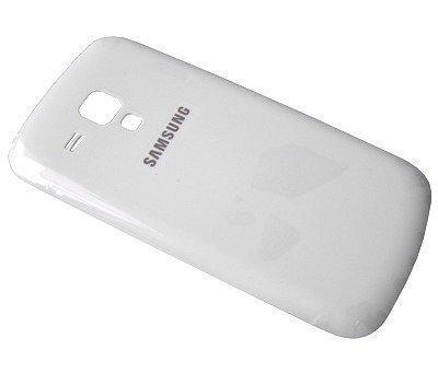 Akkukansi / Takakansi Samsung S7560 Galaxy Trend valkoinen