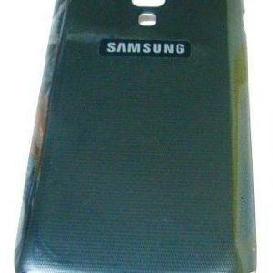 Akkukansi / Takakansi Samsung S7562 Galaxy S Dous musta
