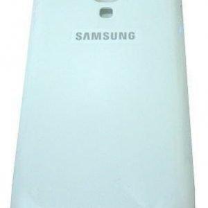 Akkukansi / Takakansi Samsung S7562 Galaxy S Dous valkoinen
