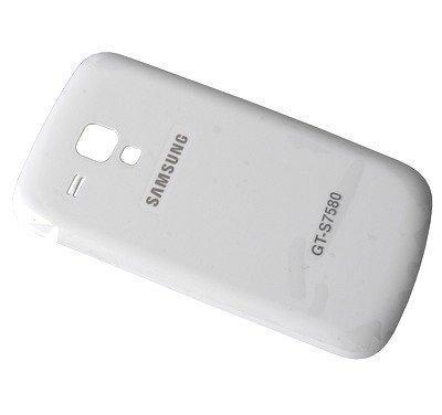 Akkukansi / Takakansi Samsung S7580 Galaxy Trend Plus valkoinen