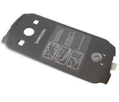 Akkukansi / Takakansi Samsung S7710 Galaxy Xcover 2 titan grey