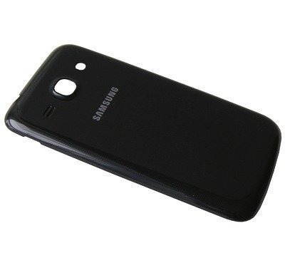 Akkukansi / Takakansi Samsung SM-G350 Galaxy Core Plus musta