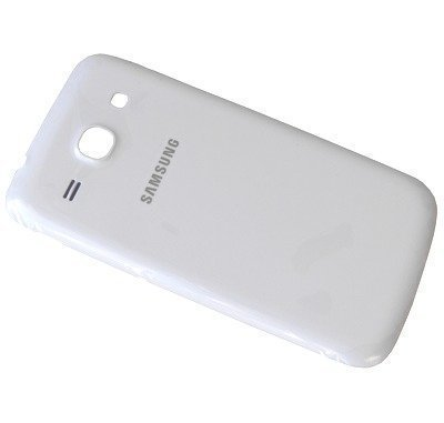Akkukansi / Takakansi Samsung SM-G350 Galaxy Core Plus valkoinen