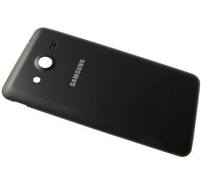 Akkukansi / Takakansi Samsung SM-G355H Galaxy Core 2/ SM-G355 Galaxy Core II musta