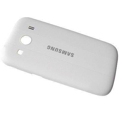 Akkukansi / Takakansi Samsung SM-G357FZ Galaxy Ace 4 valkoinen