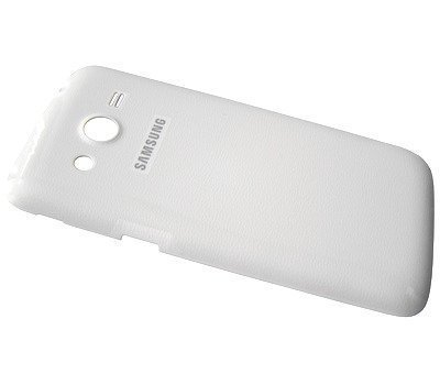 Akkukansi / Takakansi Samsung SM-G386F G3518 Galaxy LTE Core Plus valkoinen