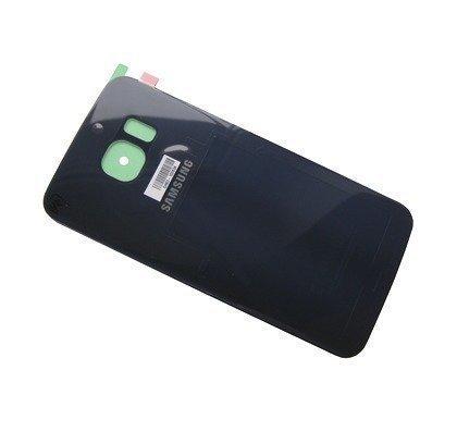 Akkukansi / Takakansi Samsung SM-G925 Galaxy S6 Edge musta