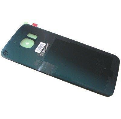 Akkukansi / Takakansi Samsung SM-G925 Galaxy S6 Edge vihreä