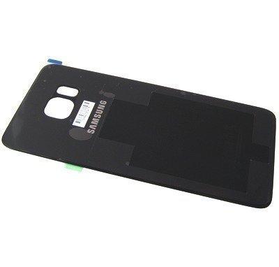 Akkukansi / Takakansi Samsung SM-G928 Galaxy S6 Edge plus musta