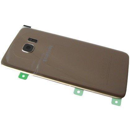 Akkukansi / Takakansi Samsung SM-G935 Galaxy S7 Edge kulta