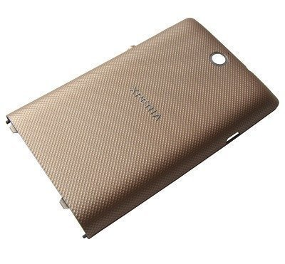 Akkukansi / Takakansi Sony C1604/ C1605 Xperia E-Dual/ C1504/ C1505 Xperia E pettern gold