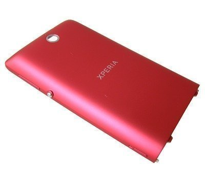 Akkukansi / Takakansi Sony C1604/ C1605 Xperia E-Dual/ C1504/ C1505 Xperia E pink