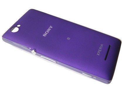 Akkukansi / Takakansi Sony C1904/ C1905 Xperia M purple