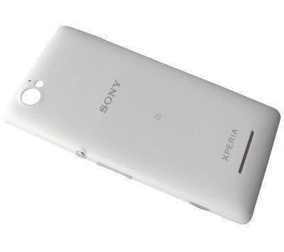 Akkukansi / Takakansi Sony C2004/ C2005 Xperia M Dual valkoinen