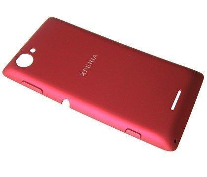 Akkukansi / Takakansi Sony C2104/ C2105 Xperia L red