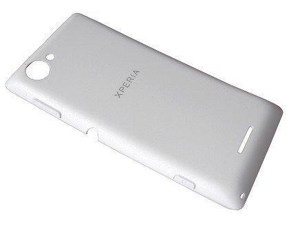 Akkukansi / Takakansi Sony C2104/ C2105 Xperia L valkoinen
