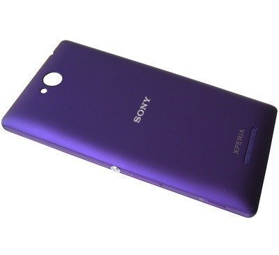 Akkukansi / Takakansi Sony C2304/ C2305 Xperia C purple