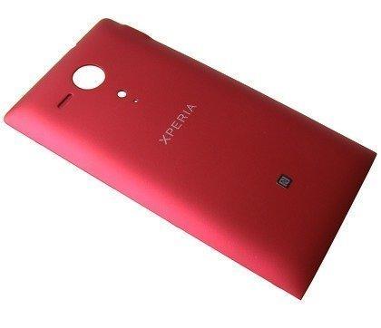 Akkukansi / Takakansi Sony C5302/ C5303/ C5306 Xperia SP red