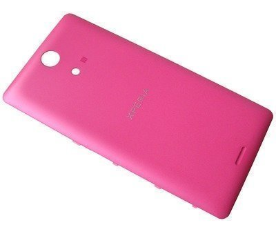 Akkukansi / Takakansi Sony C5502/ C5503 Xperia ZR pink