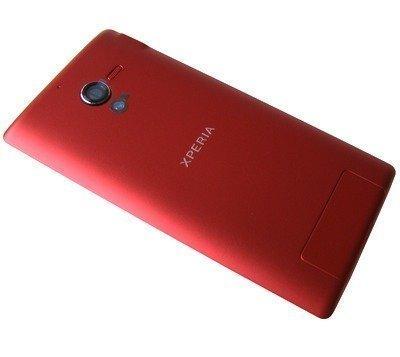 Akkukansi / Takakansi Sony C6502/ C6503/ C6506 Xperia ZL red