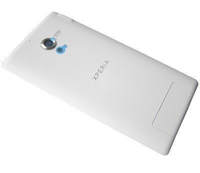 Akkukansi / Takakansi Sony C6502/ C6503/ C6506 Xperia ZL valkoinen