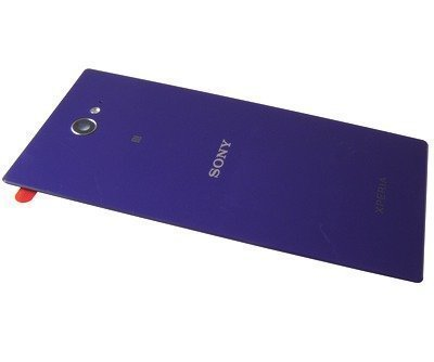 Akkukansi / Takakansi Sony D2302 Xperia M2 Dual/ D2303/ D2305/ D2306 Xperia M2 purple