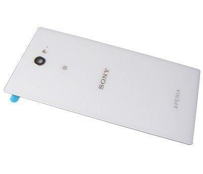Akkukansi / Takakansi Sony D2302 Xperia M2 Dual/ D2303/ D2305/ D2306 Xperia M2 valkoinen