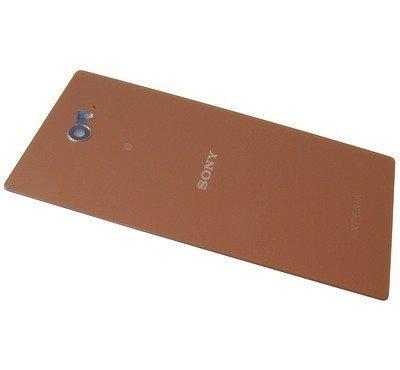 Akkukansi / Takakansi Sony D2403/ D2406 Xperia M2 Aqua copper