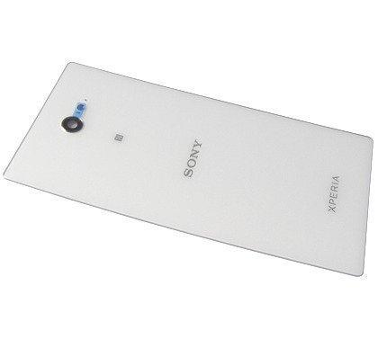 Akkukansi / Takakansi Sony D2403/ D2406 Xperia M2 Aqua valkoinen