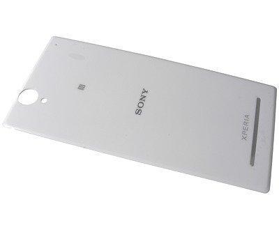 Akkukansi / Takakansi Sony D5322 Xperia T2 Ultra Dual/ D5303/ D5306 Xperia T2 Ultra valkoinen