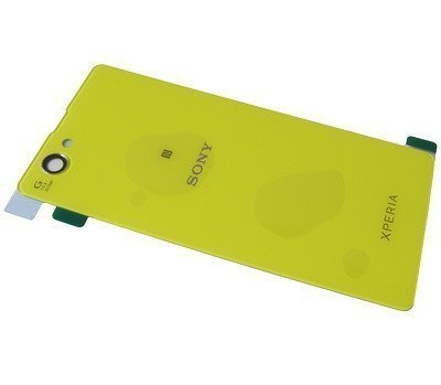 Akkukansi / Takakansi Sony D5503 Xperia Z1 Compact lime
