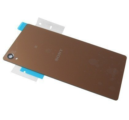Akkukansi / Takakansi Sony D6603/ D6653 Xperia Z3 copper