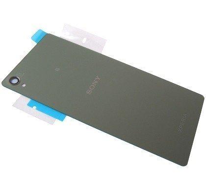 Akkukansi / Takakansi Sony D6603 / D6653 Xperia Z3 silver green