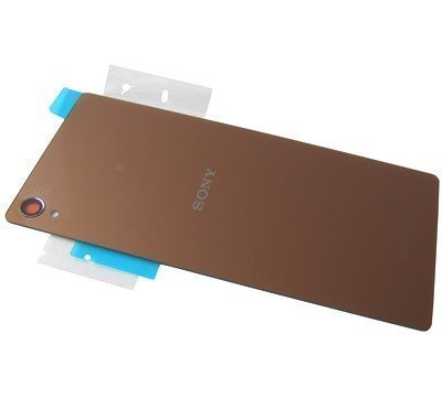 Akkukansi / Takakansi Sony D6633 Xperia Z3 Dual SIM copper