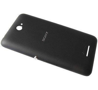 Akkukansi / Takakansi Sony E2104/ E2105 Xperia E4/ E2115 Xperia E4 Dual musta