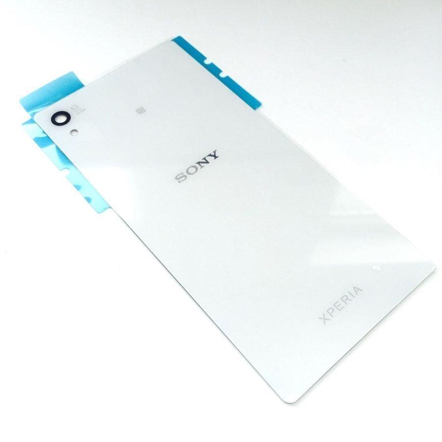 Akkukansi / Takakansi Sony E6553 Xperia Z3+/ E6533 Xperia Z3+ Dual SIM valkoinen