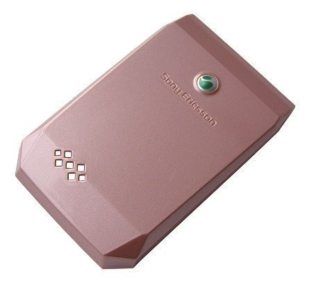 Akkukansi / Takakansi Sony Ericsson F100i Jalou D&G pink