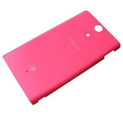 Akkukansi / Takakansi Sony LT25c Xperia VC pink