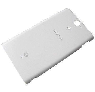 Akkukansi / Takakansi Sony LT25c Xperia VC valkoinen