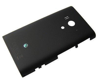 Akkukansi / Takakansi Sony LT26w Xperia Acro S musta
