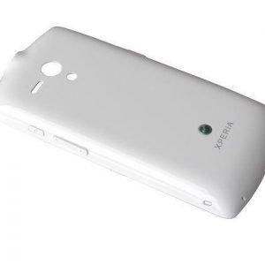 Akkukansi / Takakansi Sony MT25i Xperia Neo L valkoinen