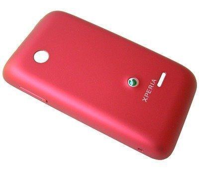 Akkukansi / Takakansi Sony ST21i Xperia Tipo/ ST21a Xperia Tipo red