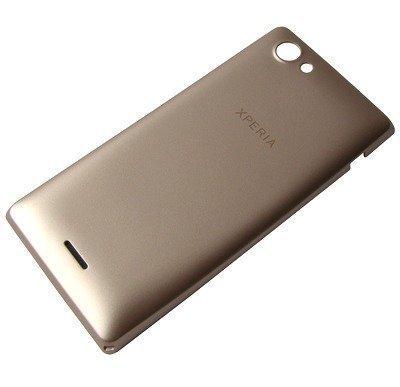 Akkukansi / Takakansi Sony ST26i/ ST26a Xperia J gold