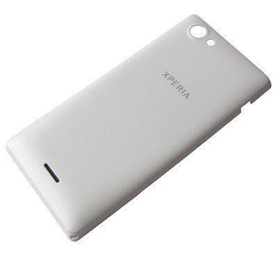 Akkukansi / Takakansi Sony ST26i/ ST26a Xperia J valkoinen