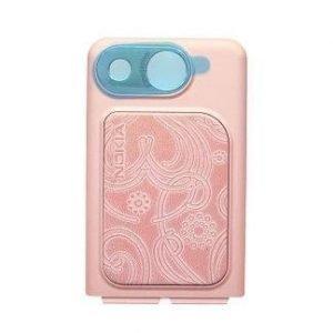 Akkukansi / Takakansi for Nokia 7390 pink