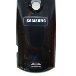 Akkukansi / Takakansi for Samsung S5620 Monte musta
