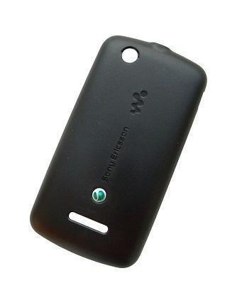 Akkukansi / Takakansi for Sony Ericsson W100i / W100 Spiro musta